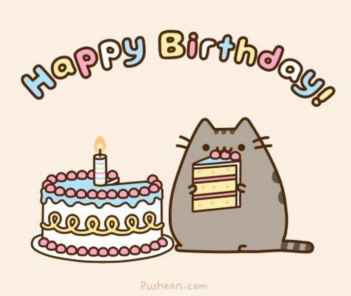 """101 Funny Cat Birthday Memes - """"Happy Birthday!"""""""
