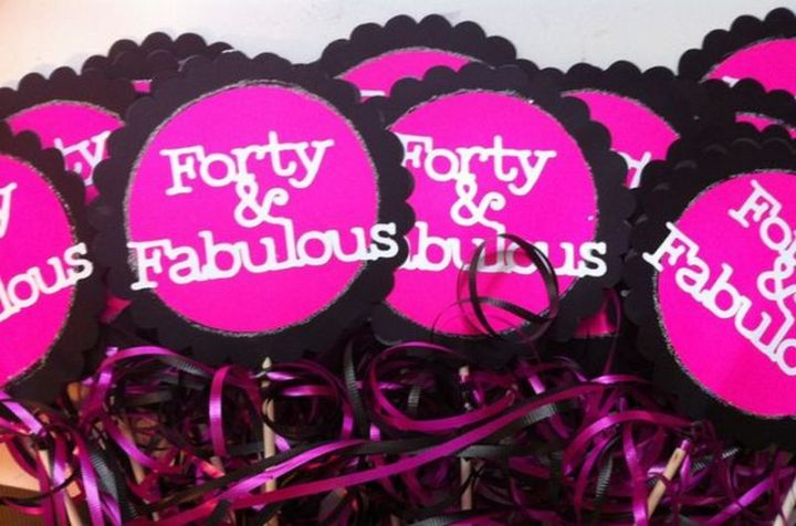 "101 Happy 40th Birthday Memes - ""Forty & fabulous."""