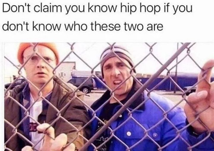 """57 Funny 'the Office' Memes - """"Don't claim you know hip hop if you don't know who these two are."""""""