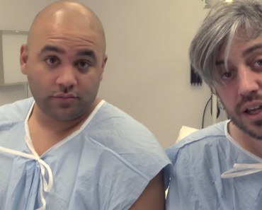 2 Dads Experience the Pain of Childbirth with a Labor Pain Simulation.