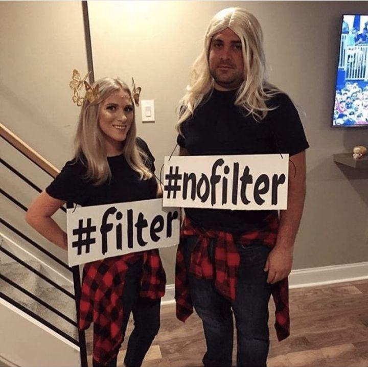 "61 Funny Clean Memes - ""#filter vs #nofilter."""