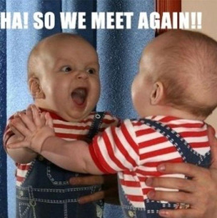 "61 Funny Clean Memes - ""Ha! So we meet again!!"""