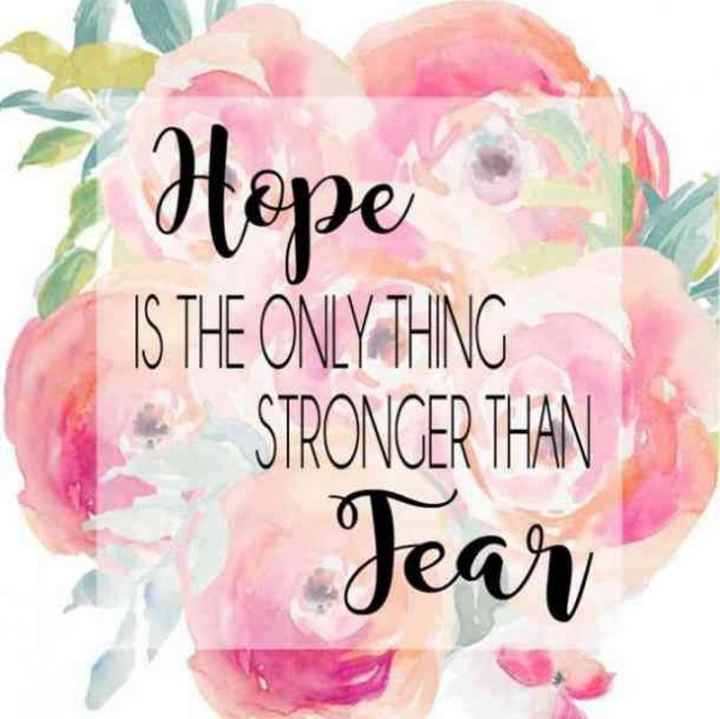 """59 Positive Memes - """"Hope is the only thing stronger than fear."""""""