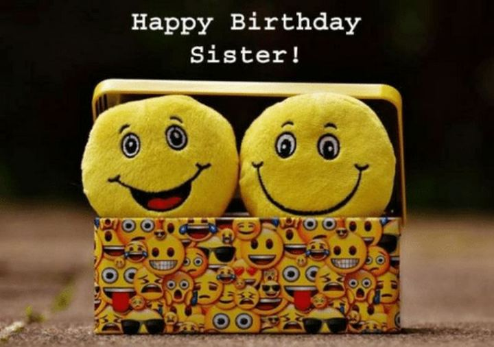 "91 Sister Birthday Memes - ""Happy birthday sister!"""