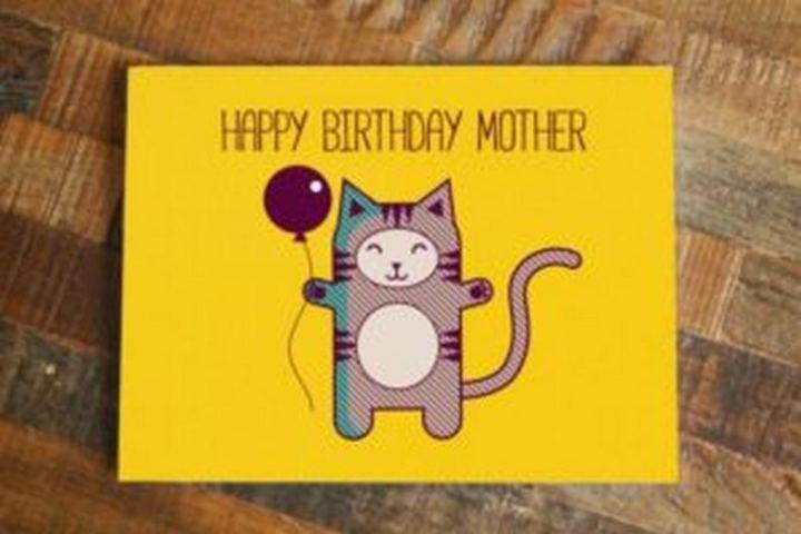 """101 Happy Birthday Mom Memes - """"Happy birthday mother."""""""