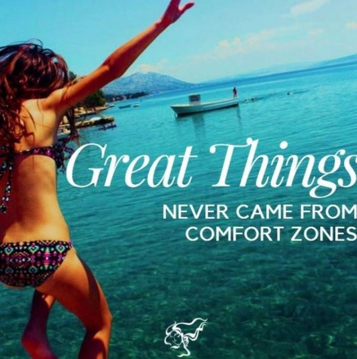 """81 Funny Life Memes - """"Great things never came from comfort zones."""""""