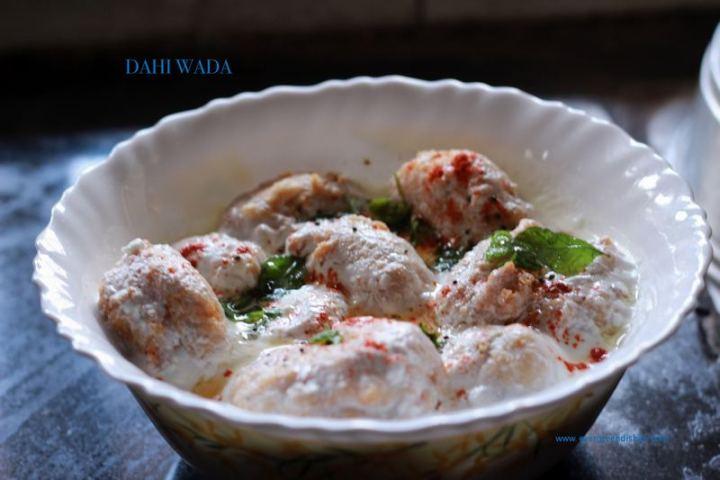35 Indian Appetizer Recipes - Dahi Vada.