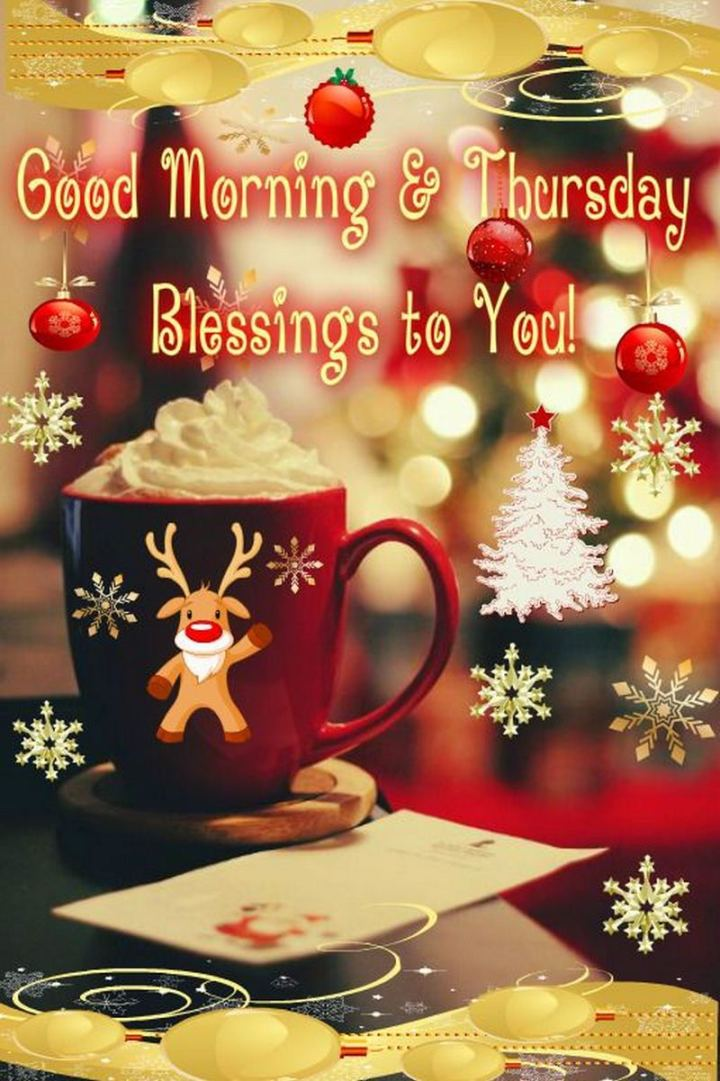 "101 Thursday Memes - ""Good morning and Thursday blessings to you!"""