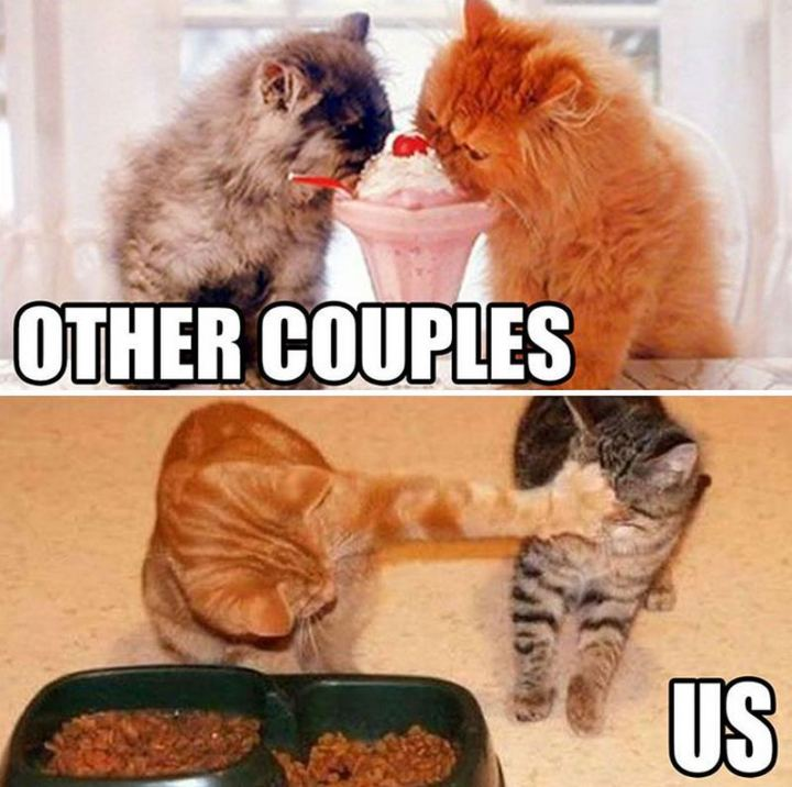 """""""Other couples VS Us."""""""