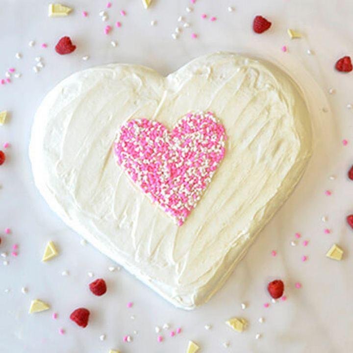 Sweet Heart Cake.