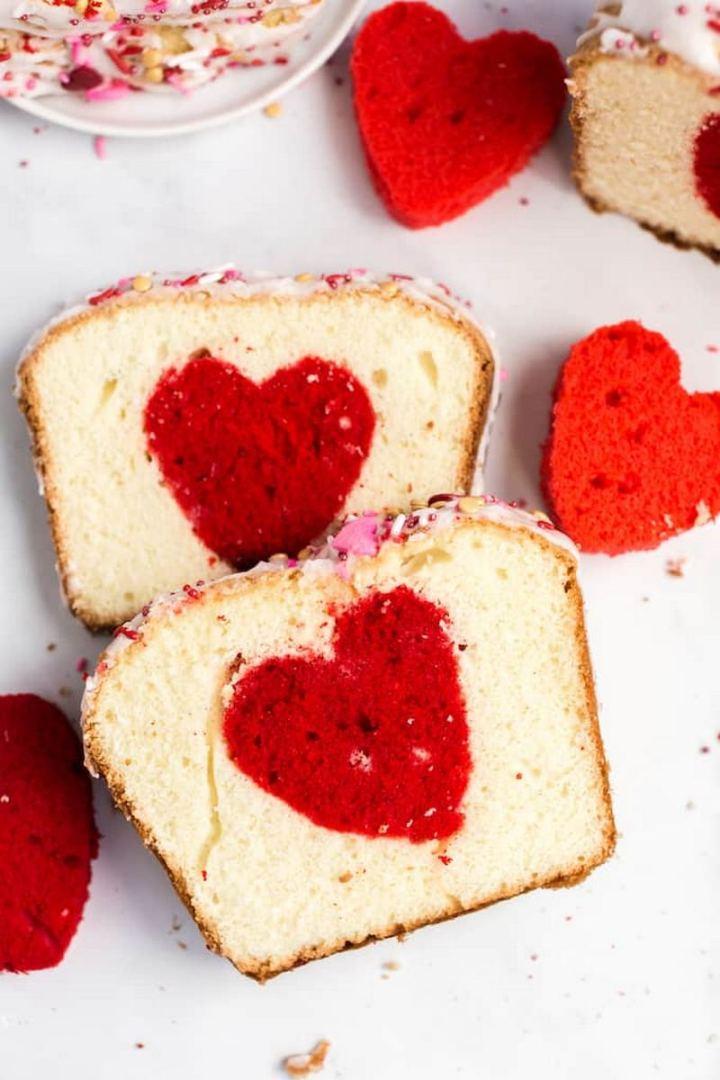 Valentine's Heart Cake.