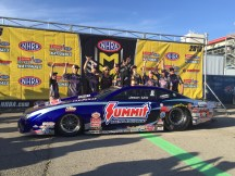Representing DENSO in the winner's circle
