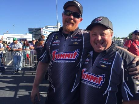 KB Racing's DJ Minter & Tim Freeman