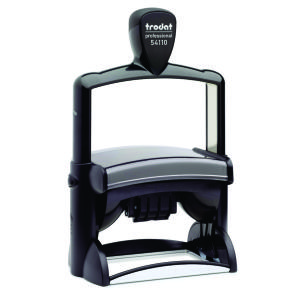 Trodat 54110 Self-Inking Professional Date Stamp