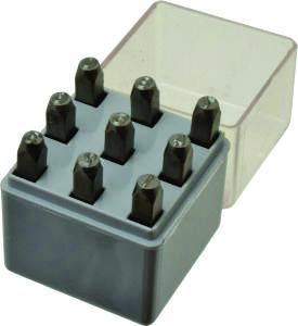 5/8″ Premier Steel Hand Stamp Number Sets