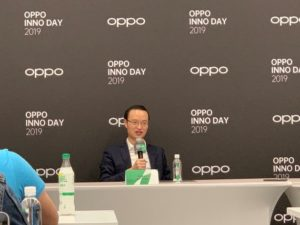 At today 's OPPO Future Technology Conference, Liu Chang, vice president of OPPO and dean of the research institute, said in an interview with the media