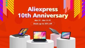 Aliexpress 10th anniversary celebrations are quickly approaching and many brands will be of course participating in the festivities.