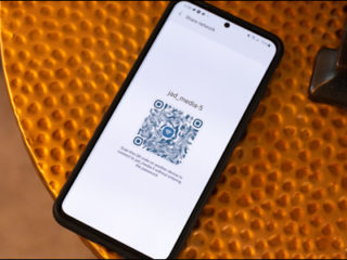 Starting with Android 10, phones running Google's mobile OS can share Wi-Fi passwords between handsets using a QR code