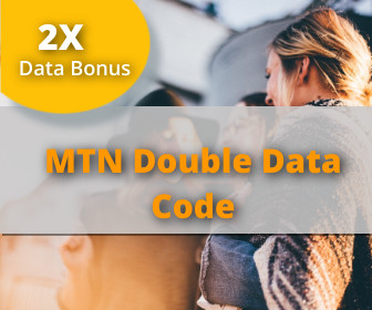 MTN double data 2020 allows subscribers to get 2 times the value of every airtel using MTN double data code 2020. That means that