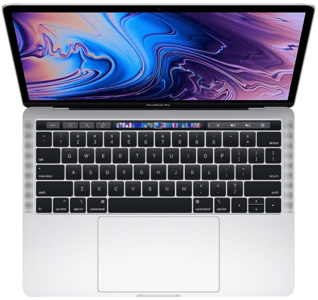 Apple Macbook Pro (2019)Key Features and Specs 8th-generation Intel CPU (Quad‑Core Intel Core i5) Processor (13.3-inch) or 9th