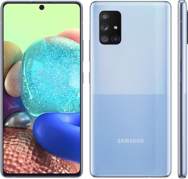 The Samsung Galaxy A71 5G is a smartphone designed for enthusiasts who love the Samsung Galaxy A71 but need a smartphone