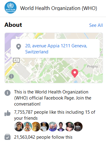 In an effort to better inform the world about CODIV-19, the WHO has launched a Facebook Messenger version of its WHO Health