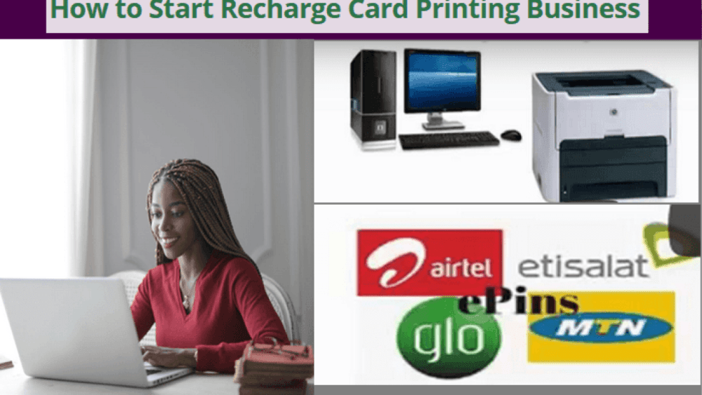 How To Generate Recharge Card Pins Of Any Network Using Your Phone.  years ago, printing of recharge, was a business that was controlled