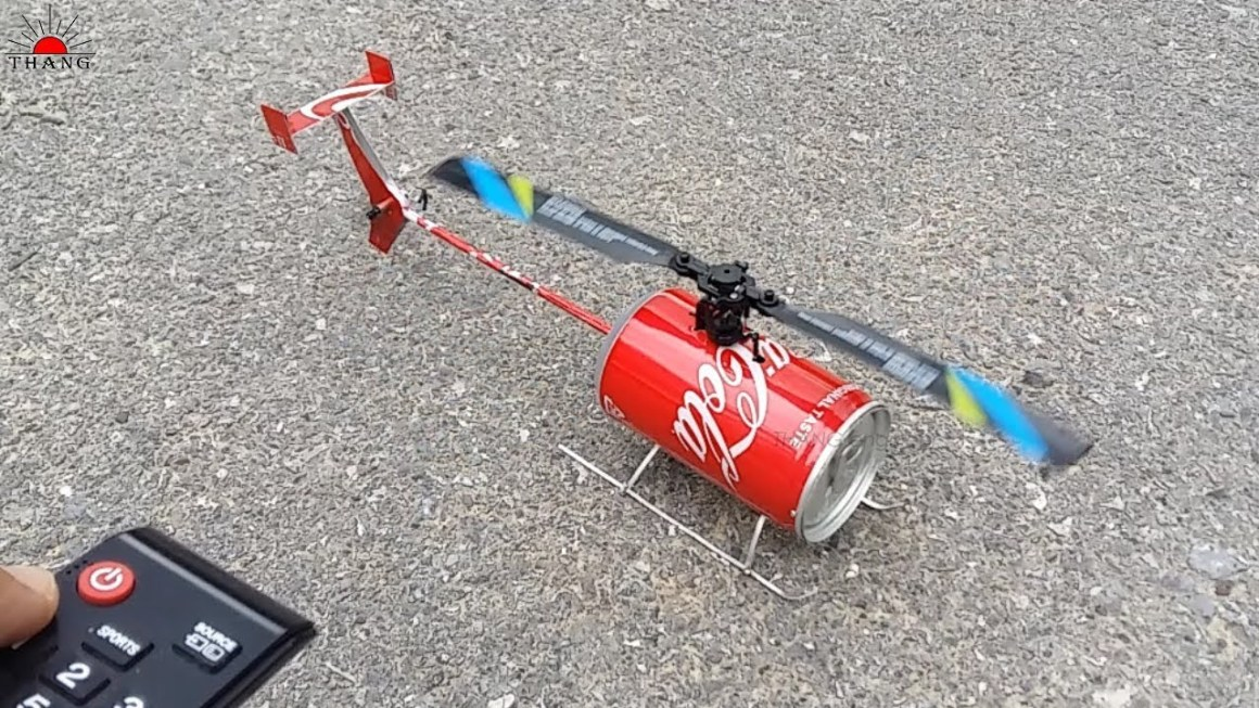 How to make remote control helicopter Yourself.   If you want to build a helicopter at home with easy materials then,you are at the right article