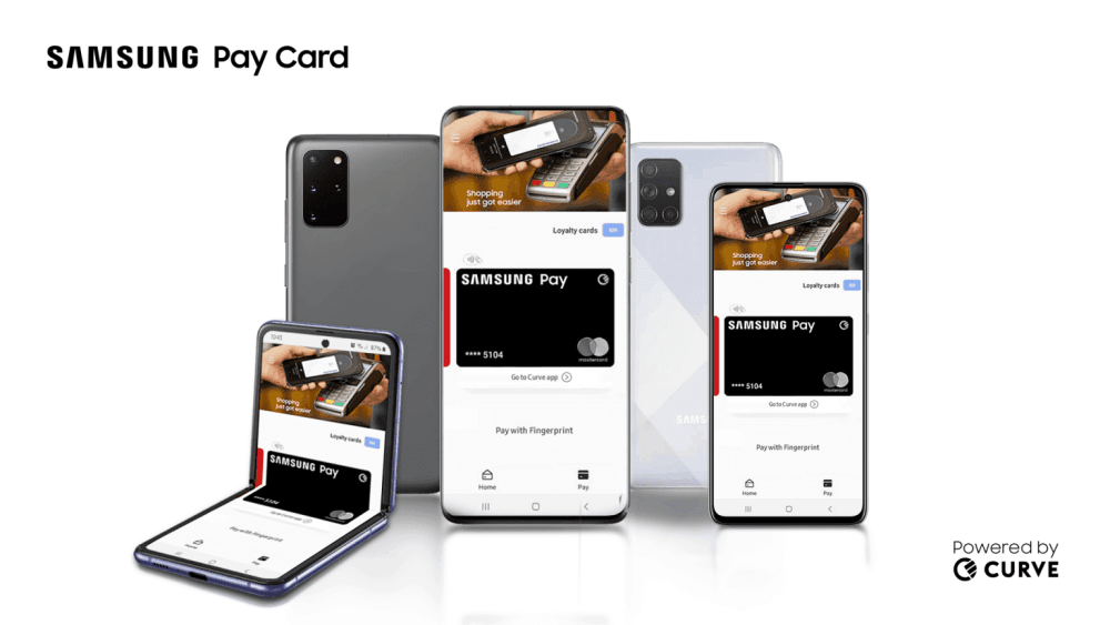 SAMSUNG LAUNCHES ITS PAY CARD BY CURVE IN UK