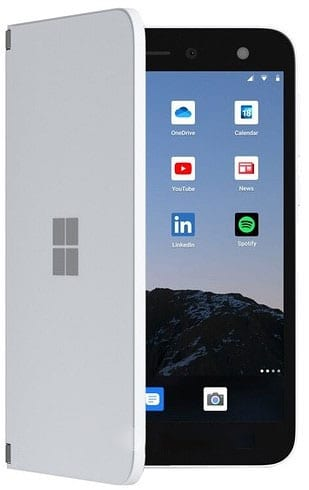 Microsoft Surface Duo Full Phone Specifications, Features and Price.   It's a smartphone-tablet hybrid that is focused on offering enthusiasts a more convenient