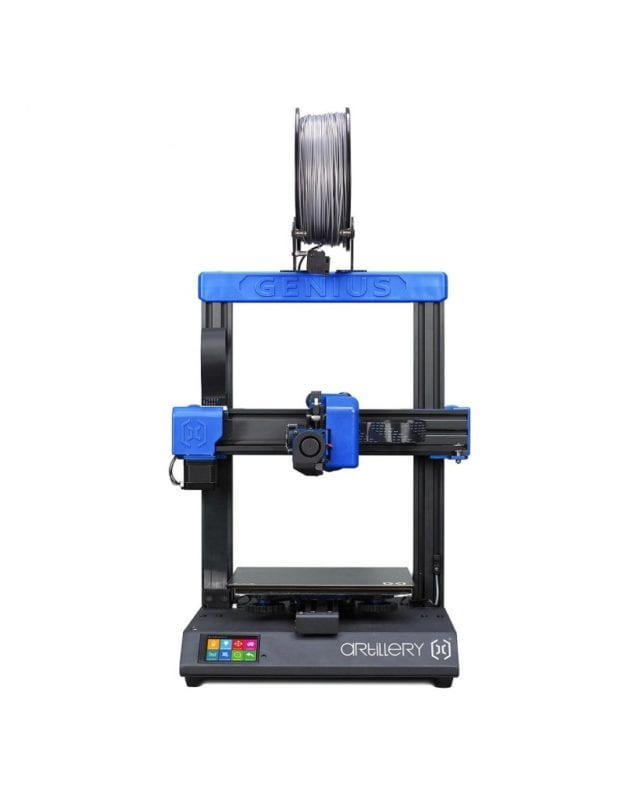 Artillery Genius 3D Printer Price, Specifications and Best Deals.  Artillery Genius 3D Printer is an all-in-one Cartesian 3D printer with ultra quiet stepper drivers