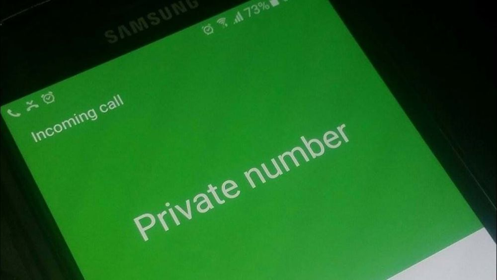 This is how to know who is calling you with a private number. Calling with a private number might be fun to the caller but is definitely disappointment to the