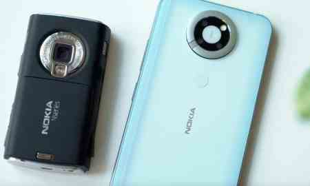A prototype of a modern Nokia N95 with a side slider has appeared