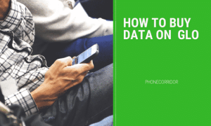 hOW TO Buy Data On Glo Network