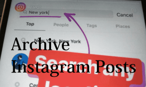 How to Hide/ Archive Instagram posts on Phone
