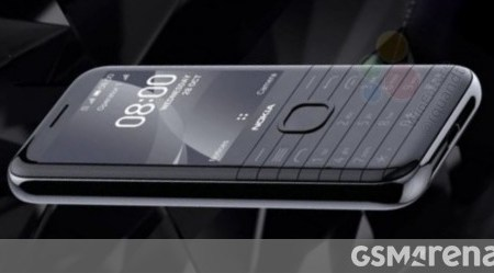 "Nokia 8000 4G image and key features leak: 2.8"" screen, S210 chipset, WhatsApp and Facebook"