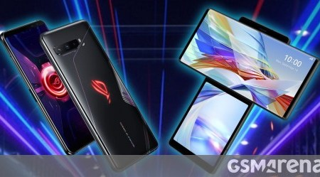 Asus ROG Phone 3 is our Best Gaming phone of 2020, LG Wing 5G wins Trailblazer category