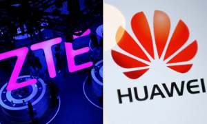 Despite the ban, Huawei and ZTE's telecom market share has increased