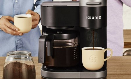 Get that morning fix with Keurig's K-Duo 12-cup coffee maker on sale for $100 today