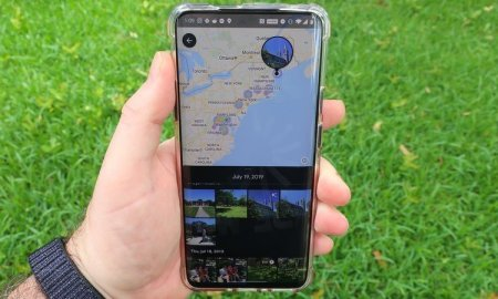 Google Photos takes map view a step further by showing your pathways