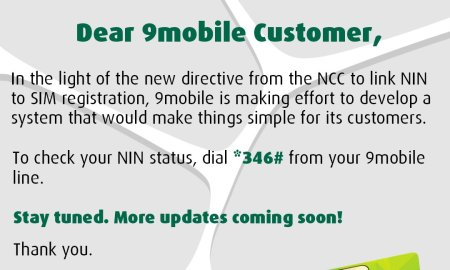 How To Link 9mobile Sim To Nin And Get Your Line Verify For Sim Block