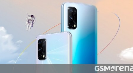 Realme Q2 Pro arrives in two more colors - Blue and regular White