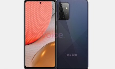 Samsung's Galaxy A71 successor appears in leaked renders with a familiar design