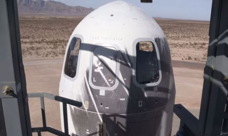 Jeff Bezos' Company Launches Capsule to Space