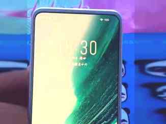 Meizu 18 appears in hands-on video with in-display camera