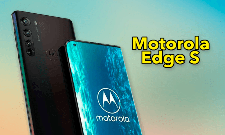 Motorola Edge S, this is Motorola's next high-end with the Snapdragon 870