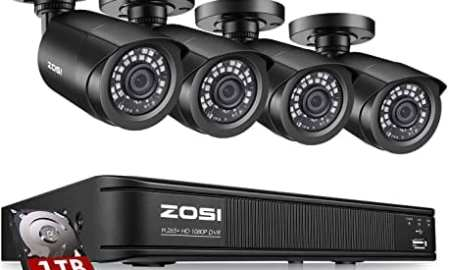 Zosi 8CH 1080p CCTV NVR Security System Price, Specs and Best Deals