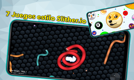 7 Slither.io-style games for Android that are very addictive and that you can play with friends