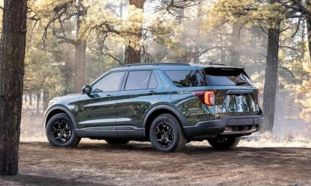 For those interested, Ford's new Explorer Timberline will begin arriving at dealerships this summer, with a starting price of $47,010 USD.