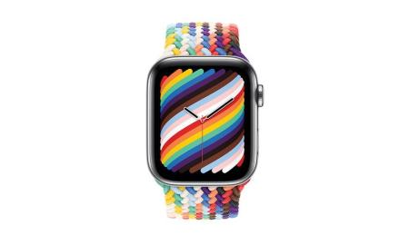 The Apple Pride Edition Braided Solo Loop is available to order today via Apple.com and in Apple Stores from May 25, priced $99 USD